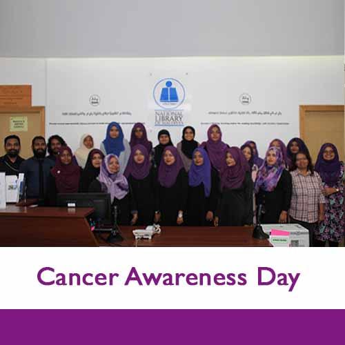 Cancer awareness group photo