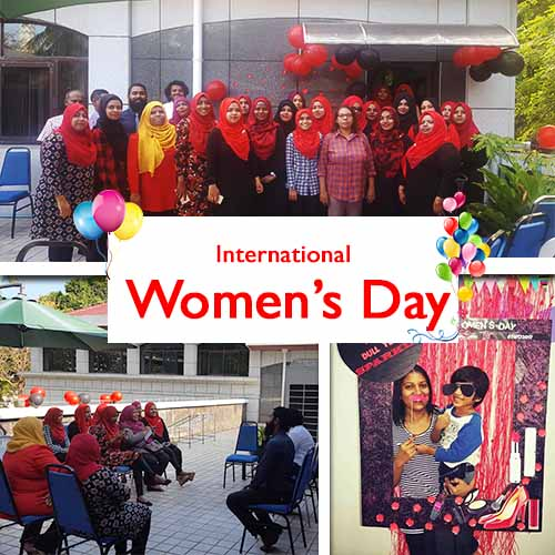 Womens day group photo