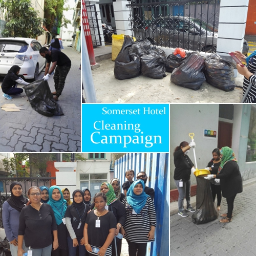 Cleaning campaign photo